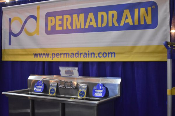 Permadrain product demonstration area at the LRA Expo 2019